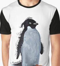 Winter Penguin Graphic T-Shirt
