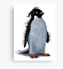 Winter Penguin Canvas Print