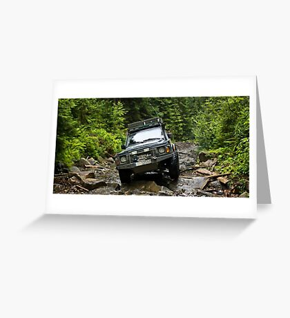 Offroad Greeting Card