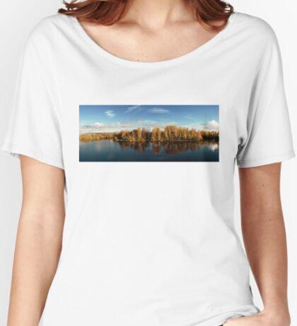 Autumn in Oulu Women's Relaxed Fit T-Shirt