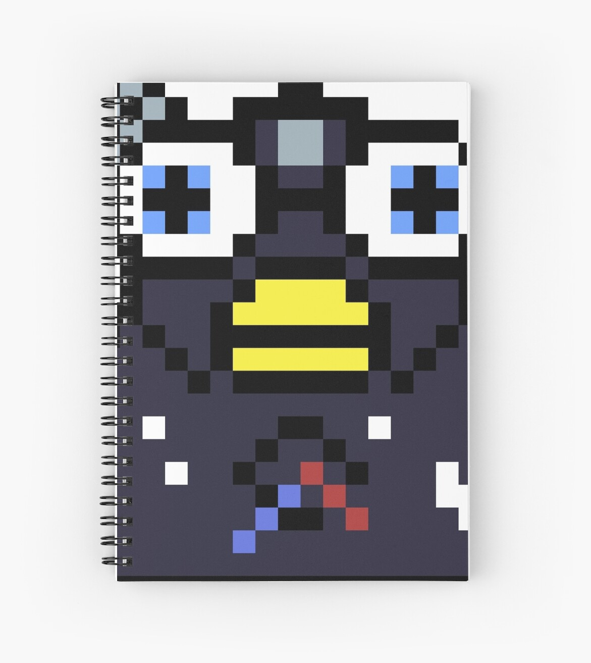 Endoskeleton Furby Glitch Spiral Notebooks By Dylanjaso Redbubble