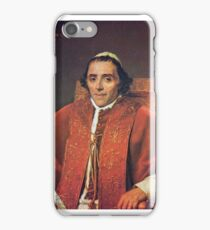 Jacques-Louis David - Portrait of Pope Pius VII iPhone Case/Skin