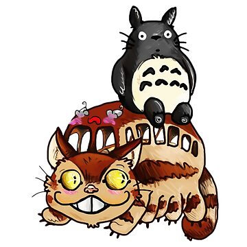 Catbus and Totoro - A Fun Ride by SherrillShop
