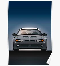 Modern Australian Icons: Holden Monaro HSV Z Series Poster