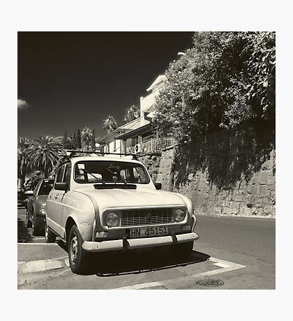 Old Renault Photographic Print