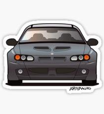 Modern Australian Icons: Holden Monaro HSV Z Series (Split) Sticker