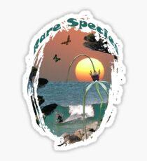 Rare Species Tee-shirt Sticker