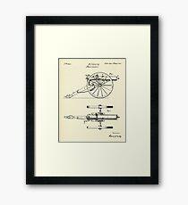 Machine Gun-1865 Framed Print