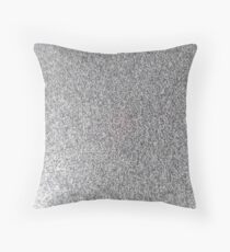Black and White sprinkles. Throw Pillow