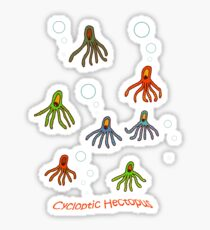 Cycloptic Hectopus Tee-shirt Sticker