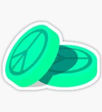 Ecstasy Pills - Peace Symbol Sticker