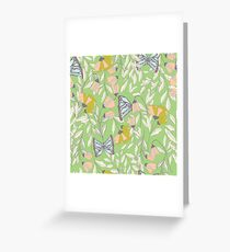 Monarch garden 006 Greeting Card