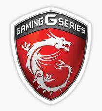 MSI Gaming Logo Sticker