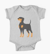 Doberman One Piece - Short Sleeve