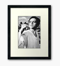 Leonardo DiCaprio Framed Print