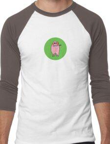 Veggie Percy Men's Baseball ¾ T-Shirt