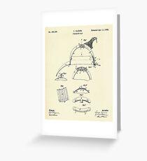 Fireman´s Hat- 1882 Greeting Card