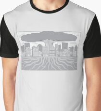 Minimalist Suburb Graphic T-Shirt