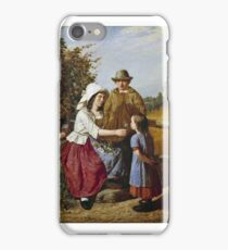 James Turpin Hart - A Rustic Timepiece iPhone Case/Skin