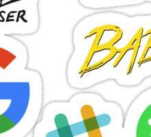 Web technologies Sticker