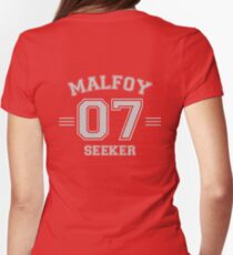 Malfoy - Seeker Womens Fitted T-Shirt