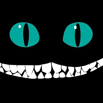 Chever Cat Smile Alice In Wonderland by SaverioOste