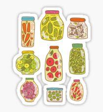 Autumn pickled vegetables Sticker