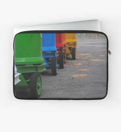 Rainbow on wheels Laptop Sleeve