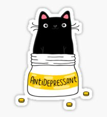 FUR ANTIDEPRESSANT Sticker
