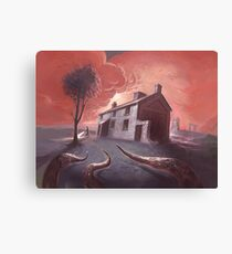 Isolated House Canvas Print