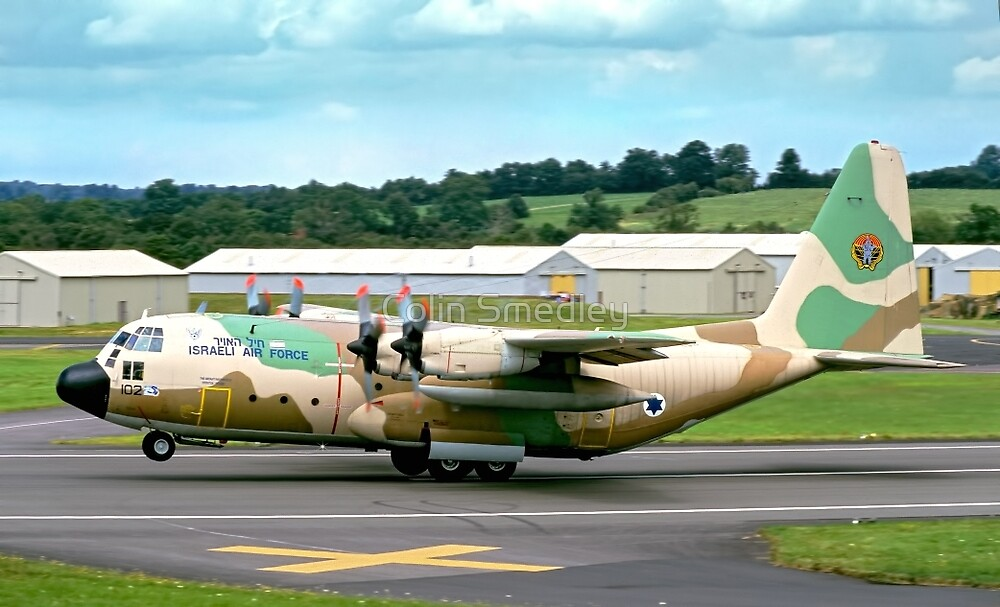 Israeli C-130H 102 Entebbe Veteran by Colin Smedley