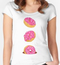 Doughnuts Women's Fitted Scoop T-Shirt