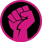 Hot Pink Revolution Fist by Thelittlelord