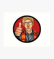 MATT The Radar Technician - Adam Driver SNL Star Wars Art Print