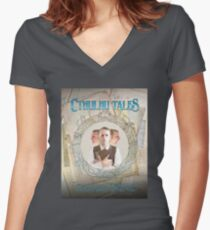 Cthulhu Tales Women's Fitted V-Neck T-Shirt