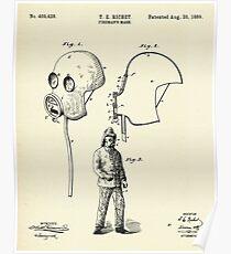 Fireman´s Mask-1889 Poster