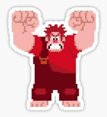 Wreck-It Ralph Pixel Art Sticker