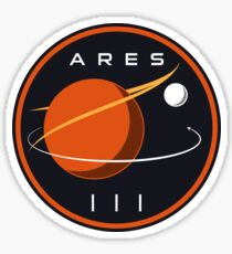 ARES III - The Martian Sticker