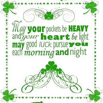 Irish Blessing by aliciacounter