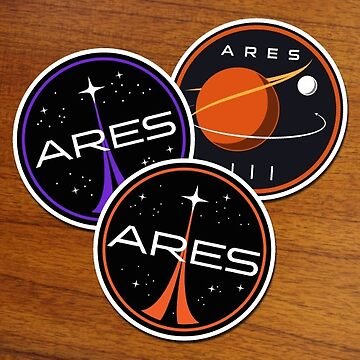 ARES Sticker Pack by DavidHedgehog