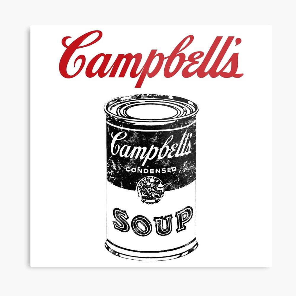 Campbell Suppe Metallbild