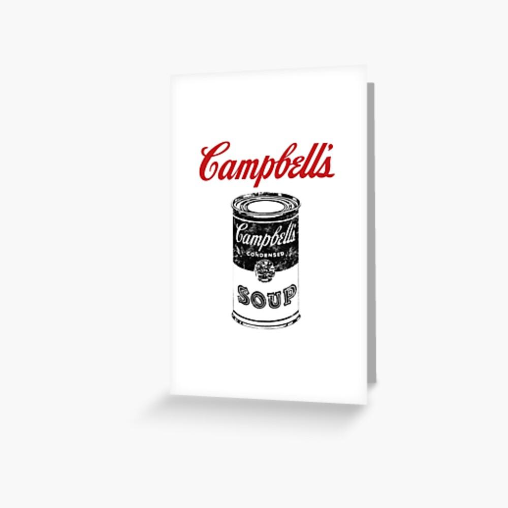 Campbell Suppe Grußkarte