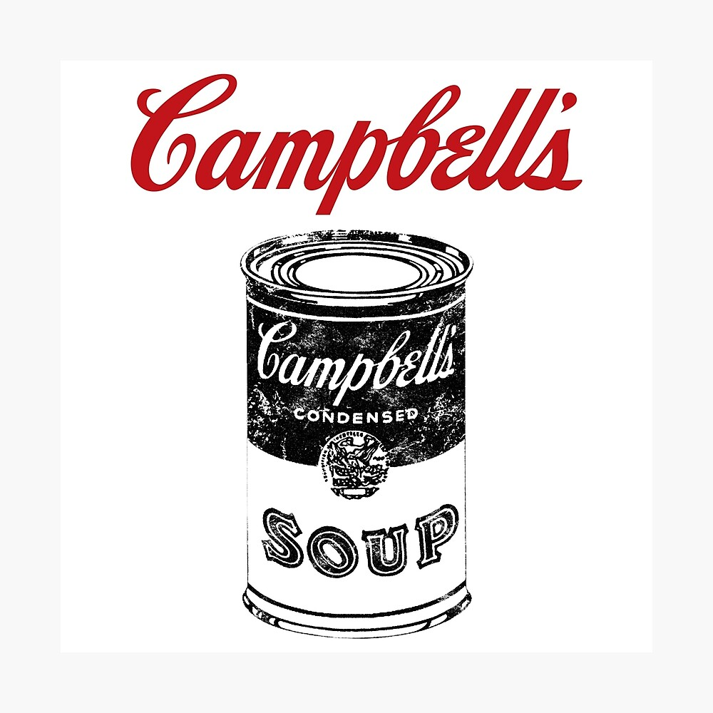 Campbell Suppe Fotodruck
