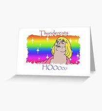 ThunderCats HO- Ft. HeMan Greeting Card