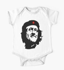 CORBYN, Comrade Corbyn, Leader, Labour Party, Politics, Black on RED One Piece - Short Sleeve