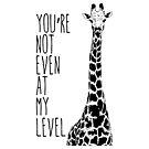 Du bist nicht einmal auf meinem Niveau von dezzigentes