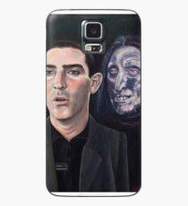 Funda/vinilo para Samsung Galaxy Espero nunca ver esa cara, nunca, fuera de un sueño.