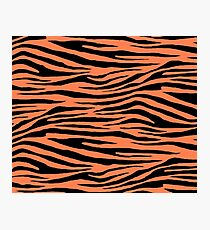 0147 Coral Tiger Photographic Print