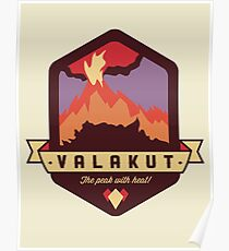 Valakut - The peak with heat! Poster