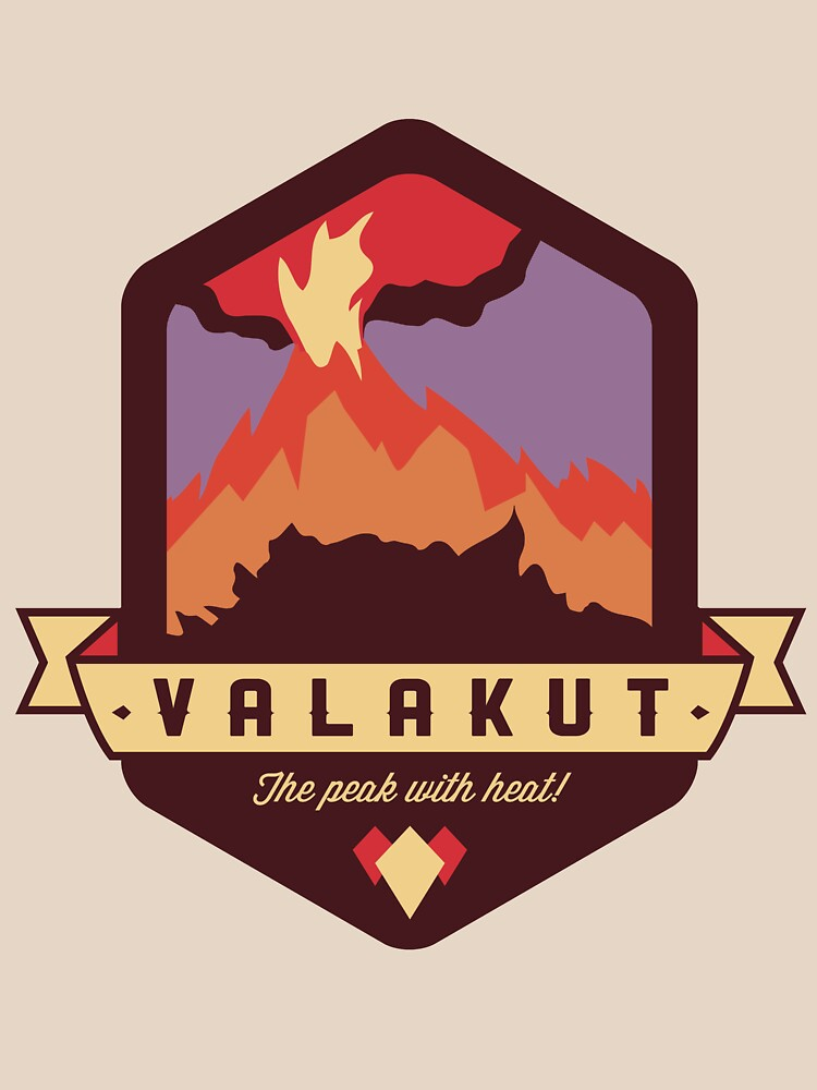 Valakut - Der Gipfel mit Wärme! von spumoniworks